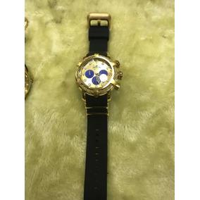Relógio Invicta Bolt 25100 Dourado Preto - Frete Grátis