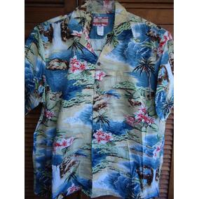 Hawaiana Camisa Xl Algodón 100%