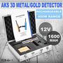 Aks Oro Metal Detector Largo Alcance Detección 3d Tracker D