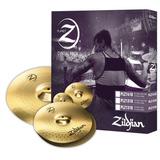 Planet Z 3 Pack Zildjian Plz1316 Hi Hat 13 Y Crash 16