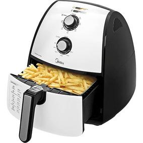 Fritadeira Elétrica Air Fryer/sem Óleo Midea 4l Branca 110v