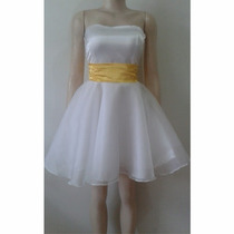 Vestido De Dama Para Debutante Pronto Entrega