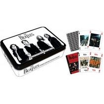 Baraja De The Beatles En Color Negro, Naipes Cartas