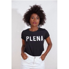 T-shirt Feminina Estampa Plena Blusa Camiseta Tumblr Frases