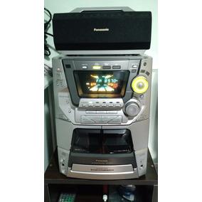 Som Panasonic Sc-ak77 Dolby Pro Home Theater(leia Descrição)