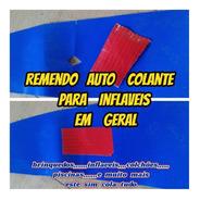 Adesivo Com Cola Remendo Auto Colante Kp100 Bem Forte Com Fios De Nylon Para Brinquedos Inflaveis Piscinas Auto Colante