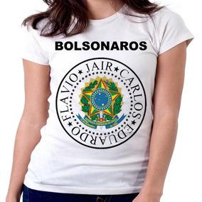 Blusa Feminina Baby Look Bolsonaros Carlos Jair Eduardo