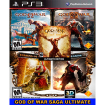 God Of War Saga Ultimate Collection Ps3 Psn