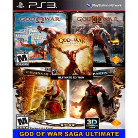 God Of War Saga Ultimate Collection Ps3 Psn