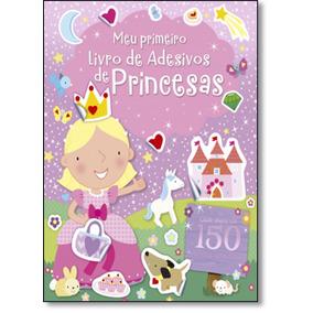 Princesas Coleção Meu Primeiro Livro De Adesivos De Ciranda