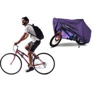 Funda Cubre Bicicleta Alta Proteccion Rodado Grande Superior