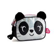Cartera, Happydays, Oso Panda Con Lentejuelas