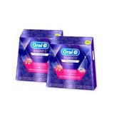 Combo X2 Tiras Blanqueadoras Oral-b 3d White