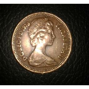 Moeda Inglesa New Penny