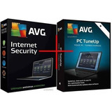 Avg Internet Security 2018 + Avg Tuneup 5 Pcs 4 Años