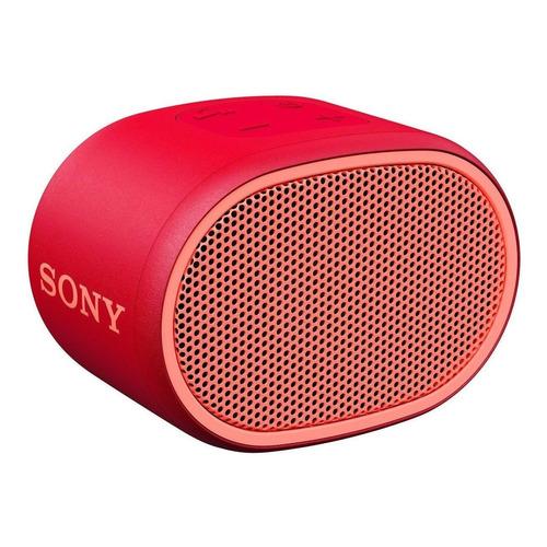 Parlante Sony Extra Bass XB01 portátil con bluetooth rojo