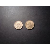Moneda Argentina 5 Y 10 Pesos 1977 G Brown Miralas !!
