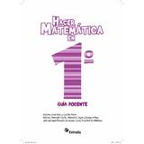 Libro Manual Hacer Matemáticas Docente Estrada 1,2 Y 3 Ebook
