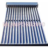 Aquecedor Coletor Solar Vácuo 20 Tubos Agua Quente 400 Litro