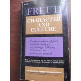 Character And Culture Sigmund Freud En Ingles