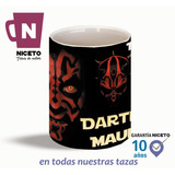 Star Wars Darth Maul Taza Unica Creacion Niceto