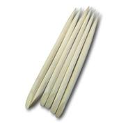 6 Palitos De Unhas E Cutículas, Osso,manicure Ref: 0084
