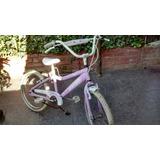 Vendo Bicicleta Para Nenas Rod.20