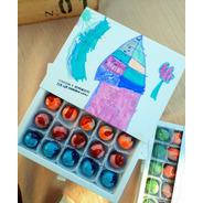 Caja De '' Lalá Chocolates '' P/ Campaña #baulettoxloschicos