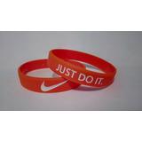 Pulseiras De Silicone Nike Frete R$10