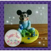 Adorno De Torta Mickey/minnie Mouse