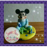 Adorno De Torta Mickey Minnie Mouse