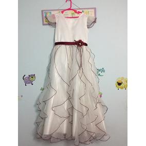 Vestido Paje La Casa Blanca Talla 12