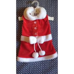 Vestido Navideño Para Perro Santa (m)