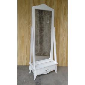 Espejos de pie con marco de pino todo para tu dormitorio for Precios de espejos de pie