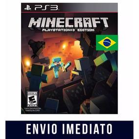 Minecraft Ps3 Psn Português Envio Imediato