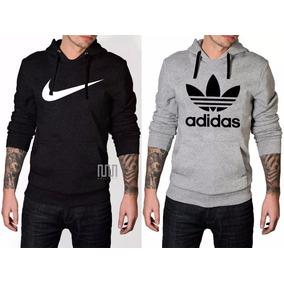 2 Blusas Moletom 1 Nike Classic adidas Masculina Promoção 3e8f2453227