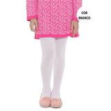 Meia Calça Infantil Colorida Fio 80 Grossa 0 A 12 Anos