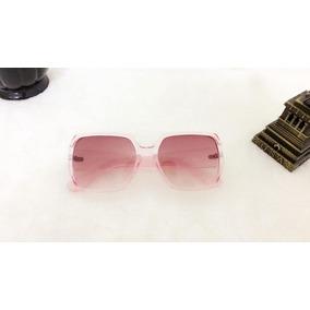 Oculos Redondo Transparente Grande - Óculos De Sol no Mercado Livre ... d011cfca8f