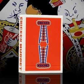 Baraja Chicken Nugget Roja. Magia Poker Y Cardistry