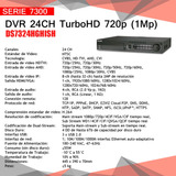 Dvr 24ch Hikvision Turbo Hd 720p (1mp) Ds7324hghish