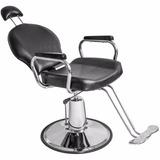 Silla Sillon Reclinable Barberia Salon Estetica Peluqueria