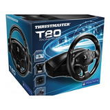 Simulador Thrustmaster Volante Timon Pedales T80 Ps3 Ps4