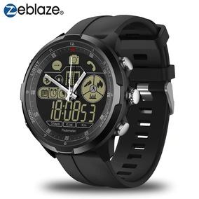 df1b4c6d152 Relógio Masculino Zeblaze Vibe 4 Ip68 Inteligente Safira