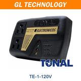 Protector De Voltaje 120v Electronicos Tv Audio Microon Te-1