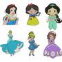 Coleção Matrizes De Bordados Princesas