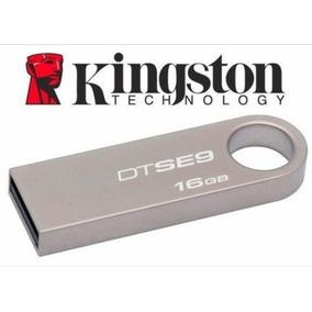 Pendrive Kingston 16gb De Metal Dtse9 Usb 2.0 En Oferta