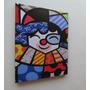 Romero Britto Quadro Sala Quarto 80x60cm- Clown