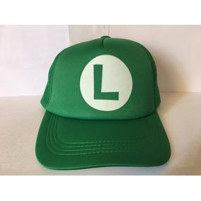 Gorra Luigi Gamer Friki Moda Novedosa Unisex