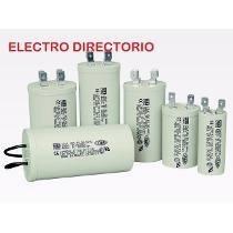 Capacitor De Marcha 12,5 Uf Microfalarios 400v 50/60hz Iram