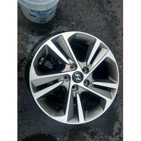 1 Rin Aluminio Hyundai Elantra, Sin Reparar 5birlos